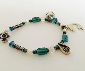 charm bracelet, sparkle, and sterling silver image