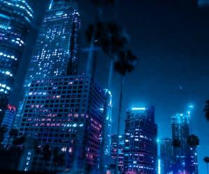 blue, city, and blue city image