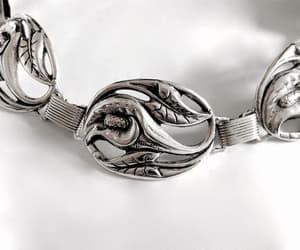 etsy, sterling silver, and vintage bracelets! image
