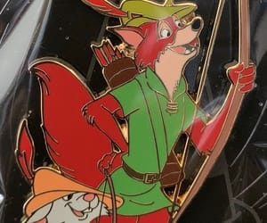 animated, badge, and maid marian image