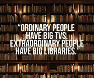 book, library, and quotes image
