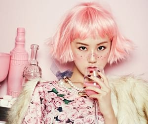 editorial and pink image