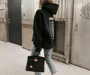 bag, blonde, and fashion image