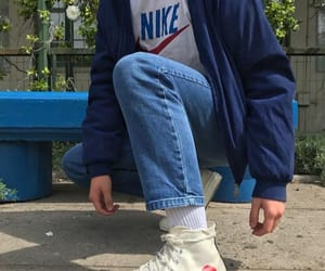 converse, nike, and outfit image