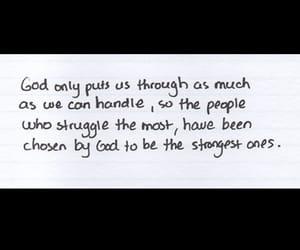 god, life, and strong image