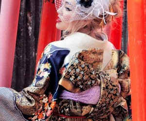 girls, kimono, and ちゃんみな image