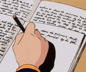 anime, gif, and homework image