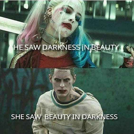 harley quinn and joker love quotes on we heart it