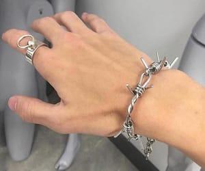 bracelet, colors, and lit image