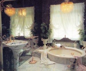 vintage, aesthetic, and bathroom image