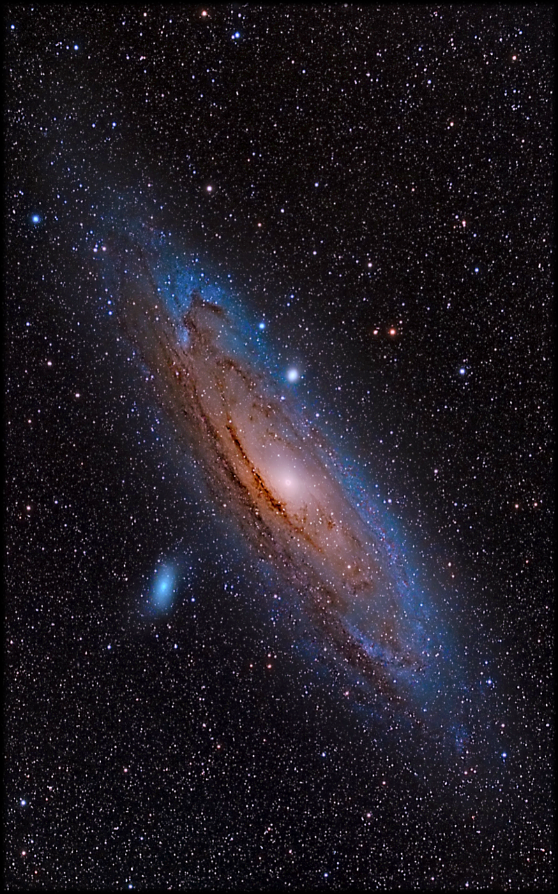 M 31 Andromeda Galaxy Mobile Phone Wallpaper 1200x1920