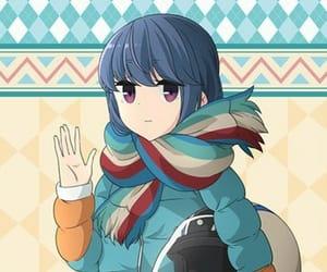 anime, anime girl, and yuru camp image