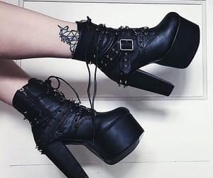 alt girl, alternative, and black image