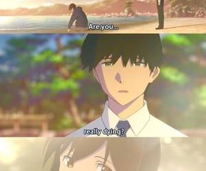 anime, death, and sakura image