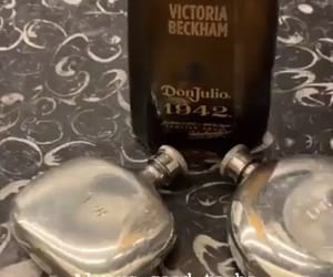 alcohol, flask, and victoria beckham image