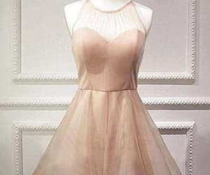 pink prom dresses, short homecoming dress, and lace homecoming dress image