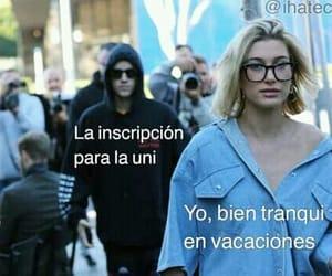 meme, vacaciones, and inscripción image