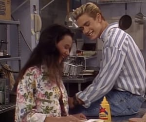 90s, saved by the bell, and zack morris image