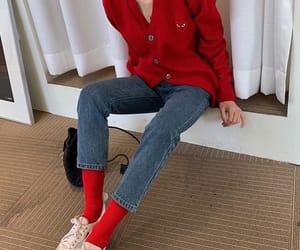 comme des garcons, fashion, and jeans image