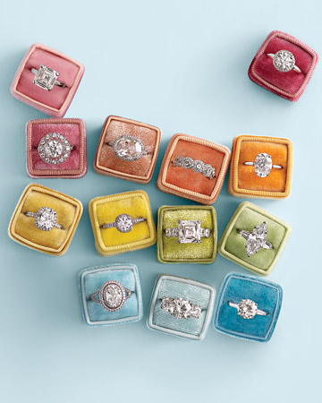 rings, diamond, and colorful image