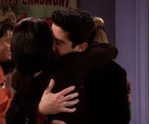 hug, monica geller, and ross geller image