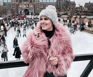 aesthetic, christmas, and coat image