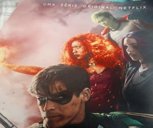 robin, serie, and titans image