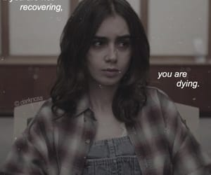 anorexic, ed, and lily collins image