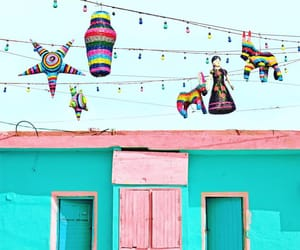 architecture, viva mexico, and colorful image