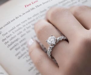 ring, fashion, and wedding image