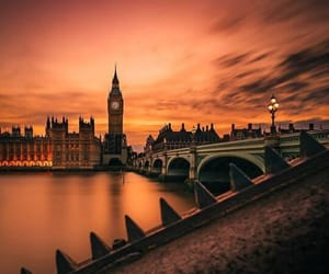 Big Ben, city, and angleterre image