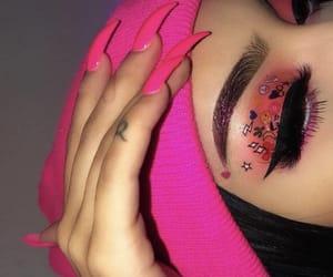 bandana, beauty, and eyebrows image
