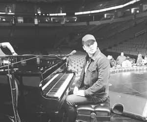 b&w, piano, and kingsman image