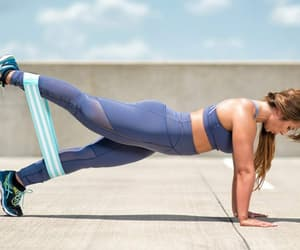 fitness, workout, and women wear image