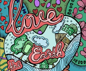 hand made, heart, and love the earth image