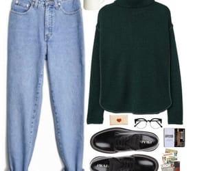 autumn, fashion, and green image