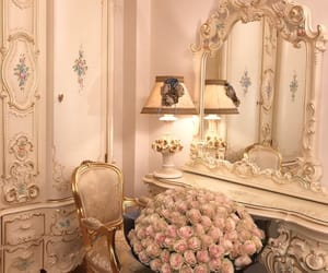 girly, room, and roses image