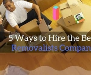 furniture removalists and house moving trucks image