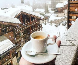 beautiful, cold, and coffee image