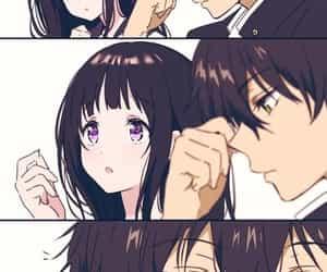 anime, hyouka, and love image