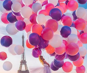 balloons, like, and paris image