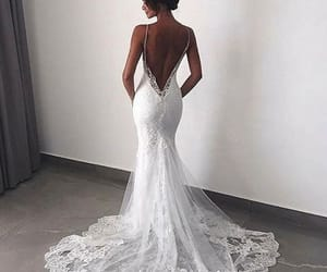 fashion, wedding, and dress image