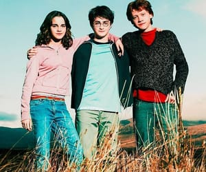 harrypotter, hp, and ronweasly image