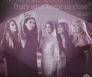 ad, lucy hale, and ashley benson image