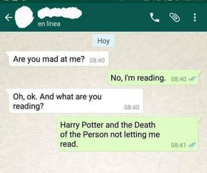angry, books, and deathly hallows image