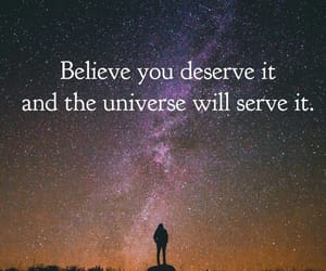 and, deserve, and believe image