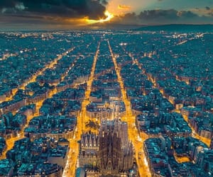 travel, Barcelona, and city image