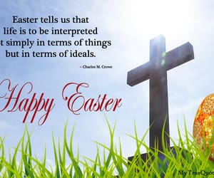 happy easter, easter quotes, and sayings image