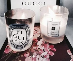 gucci and candle image