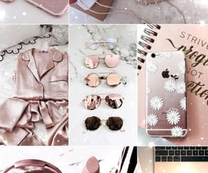 Collage, girly, and pink image